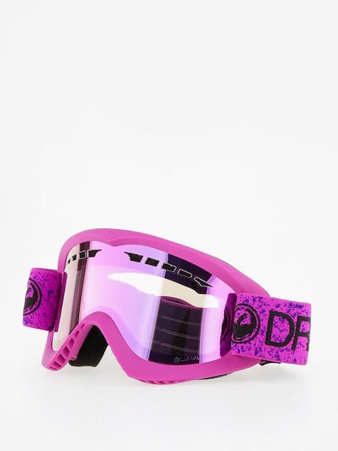 Okuliare na snowboard Dragon DX (violet/lumalens pink ion)