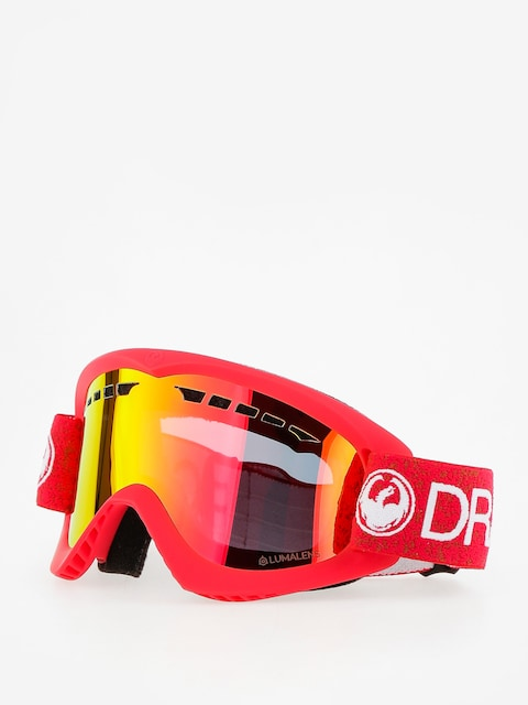 Okuliare na snowboard Dragon DX (red/lumalens red ion)