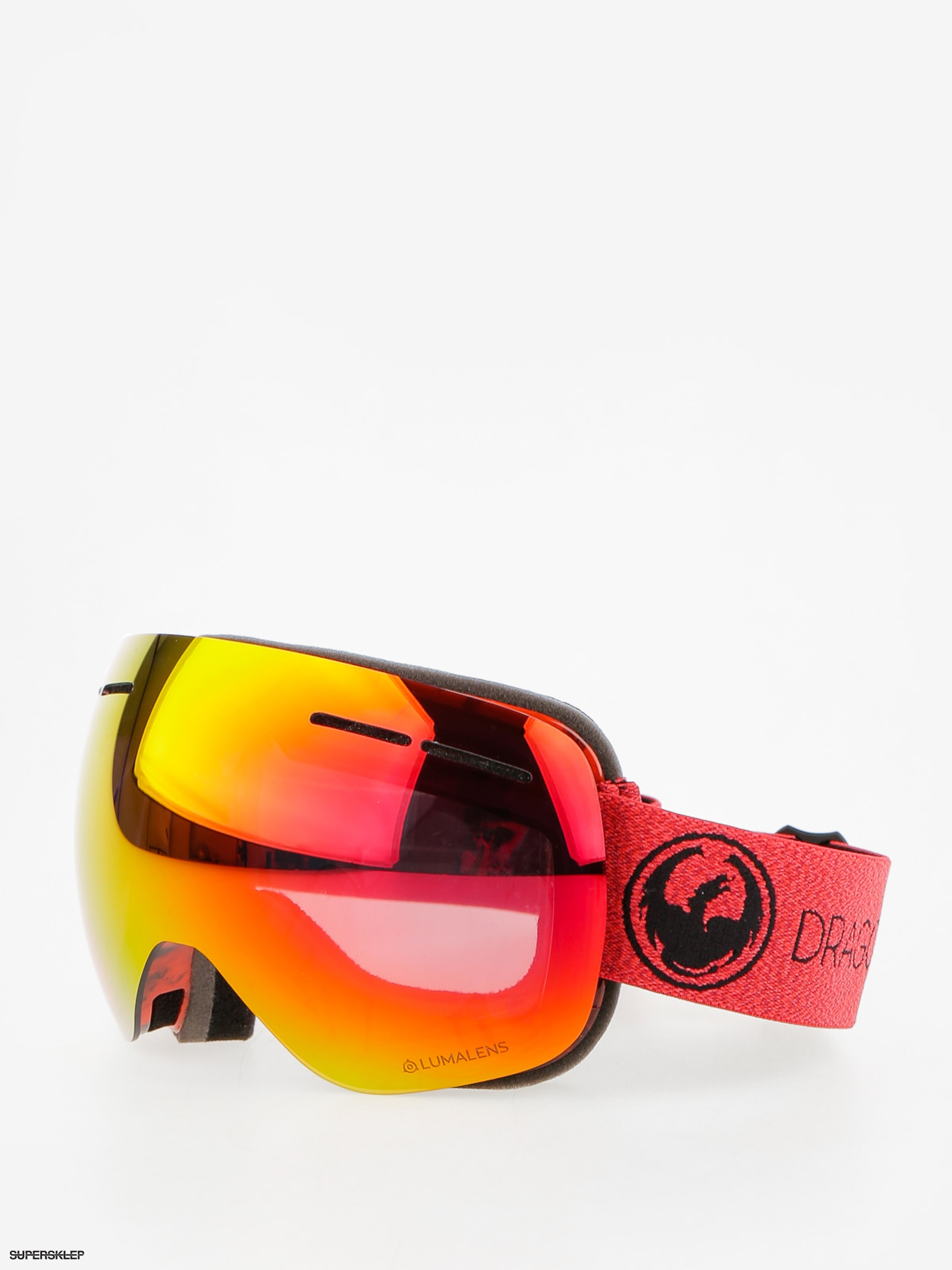 Okuliare na snowboard Dragon X1s (mill/lumalens red ion/l rose)