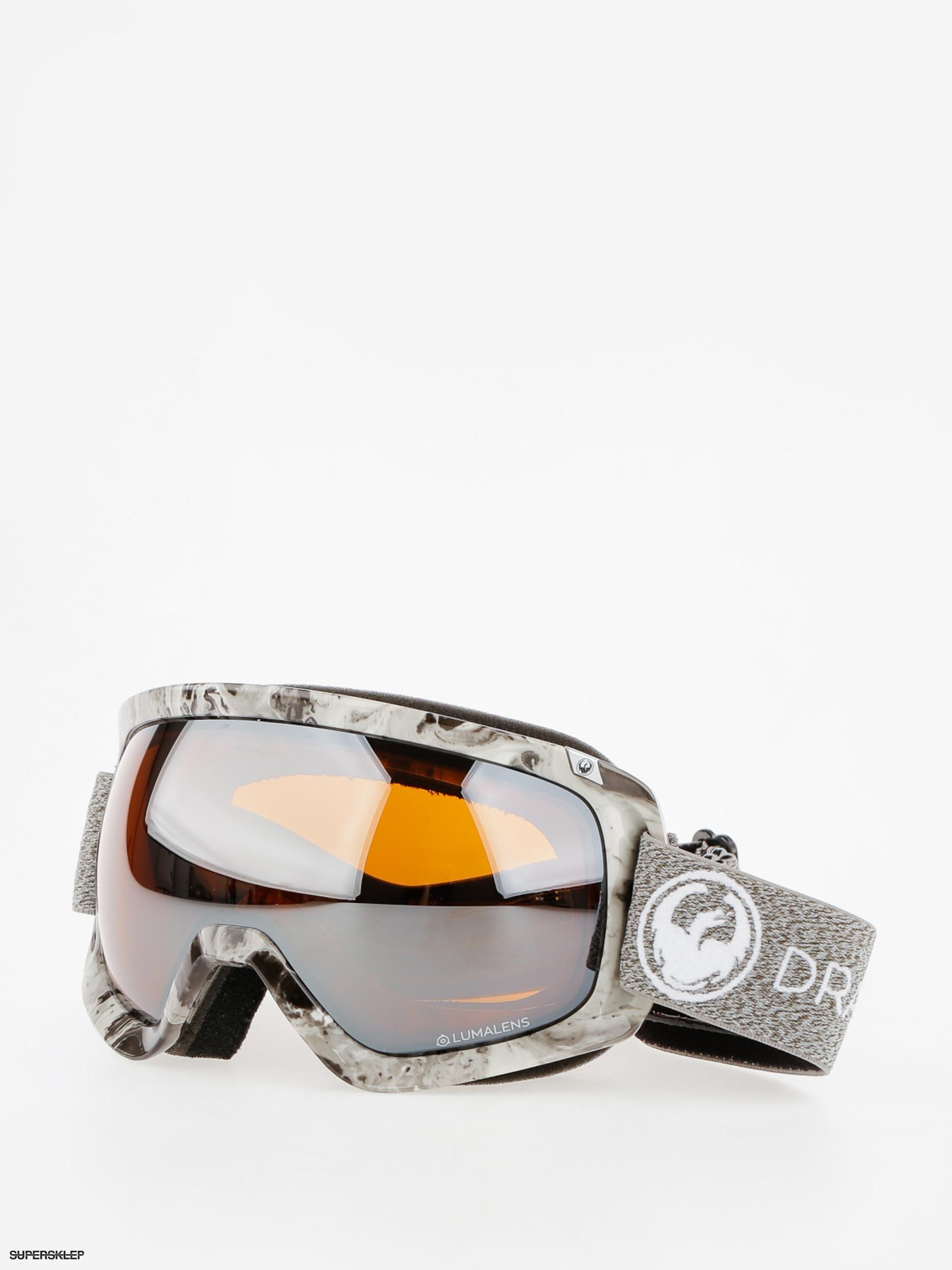Okuliare na snowboard Dragon D3 (mill lumalens silver ion dark smoke) d34c78b5286