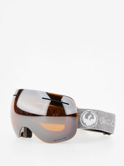 Okuliare na snowboard Dragon X1 (mill/lumalens silver ion/dark smoke)