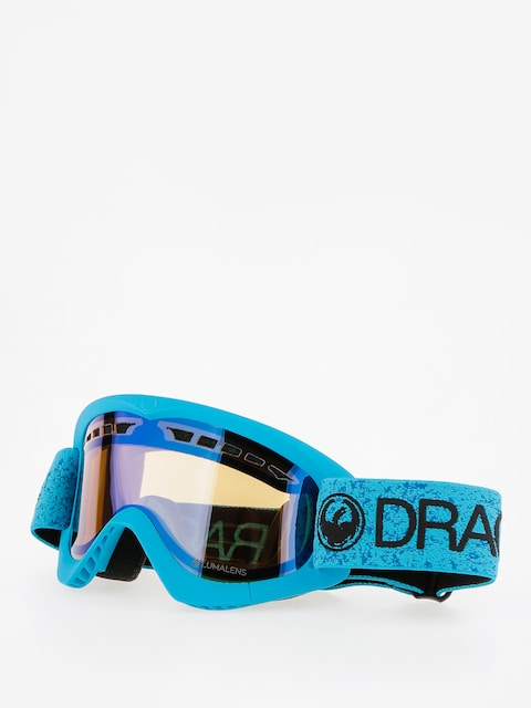 Okuliare na snowboard Dragon DXS (blue/lumalens flash blue)