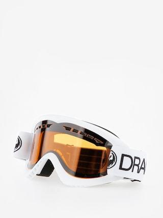 Okuliare na snowboard Dragon DX (white/lumalens amber)
