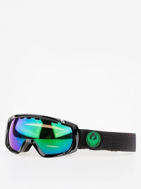 Okuliare na snowboard Dragon Rogue (split/lumalens green ion/l amber)