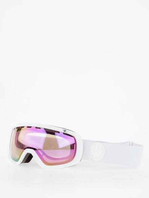 Okuliare na snowboard Dragon Rogue (whiteout/lumalens pink ion)
