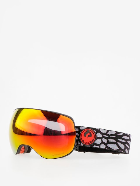 Okuliare na snowboard Dragon X2 (olio/lumalens red ion/l rose)