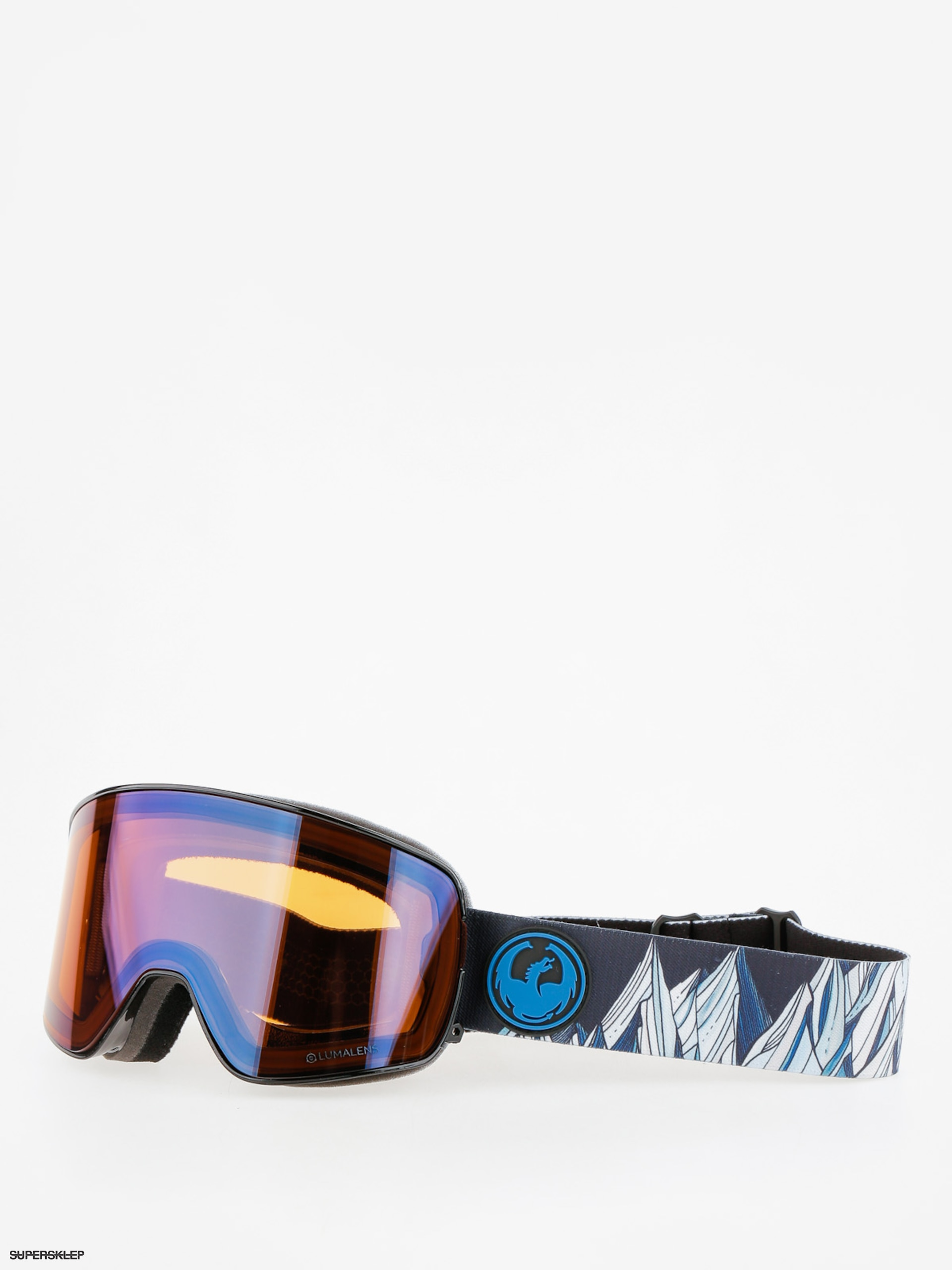 Okuliare na snowboardDragon  NFX2 (chris benvhetler sig/lumalens flash blue/dark smoke)