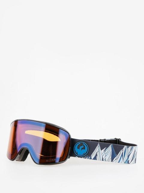 Okuliare na snowboardDragon  NFX2 (chris benvhetler sig/lumalens flash blue/dark smoke)