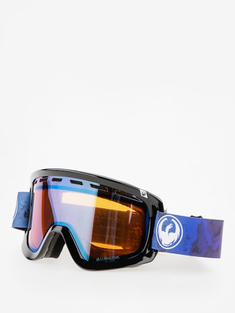 Okuliare na snowboard Dragon D1 (ink/lumalens blue ion/dark smoke)