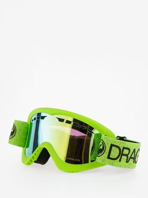 Okuliare na snowboard Dragon DXS (green/lumalens gold ion)