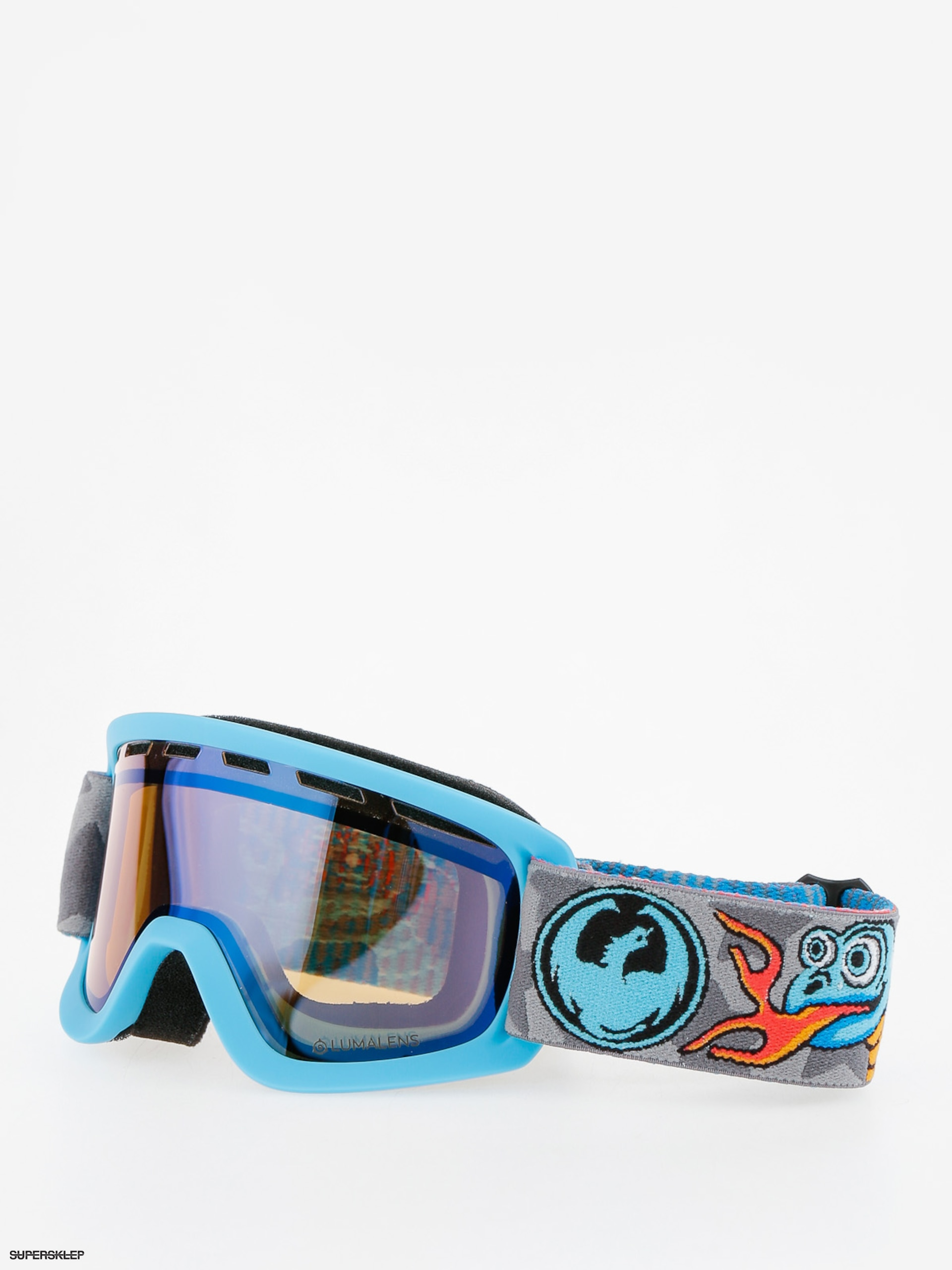 Okuliare na snowboard Dragon Lil D (lumalens flash blue)