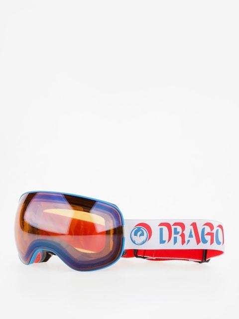Okuliare na snowboard Dragon X2 (verge/lumalens flash blue/dark smoke)