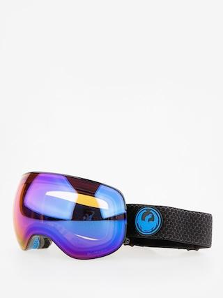 Okuliare na snowboard Dragon X2 (split/lumalens blue ion/l amber)