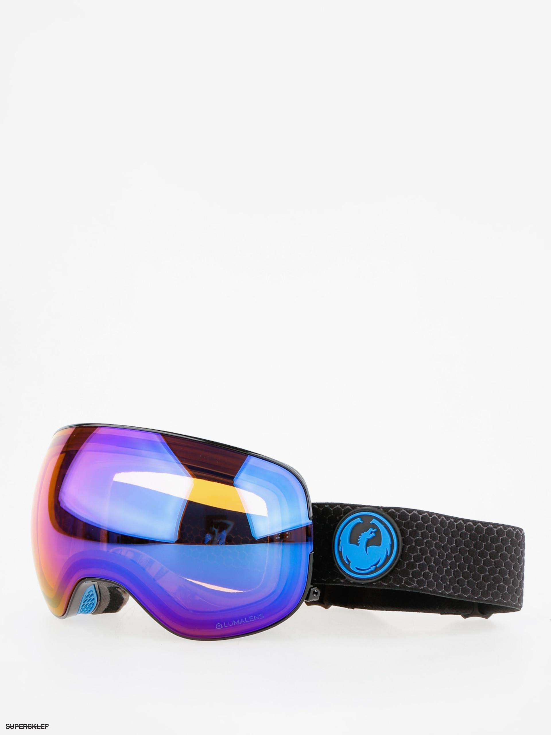 2f055e63f Okuliare na snowboard Dragon X2 (split/lumalens blue ion/l amber)