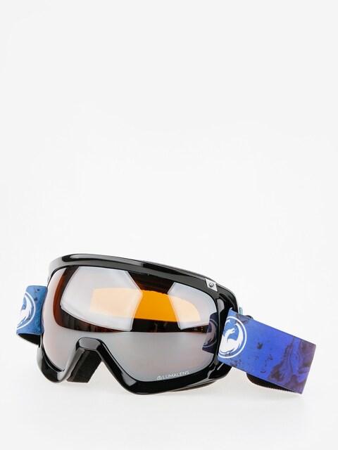 Okuliare na snowboard Dragon D3 (ink/lumalens silver ion)