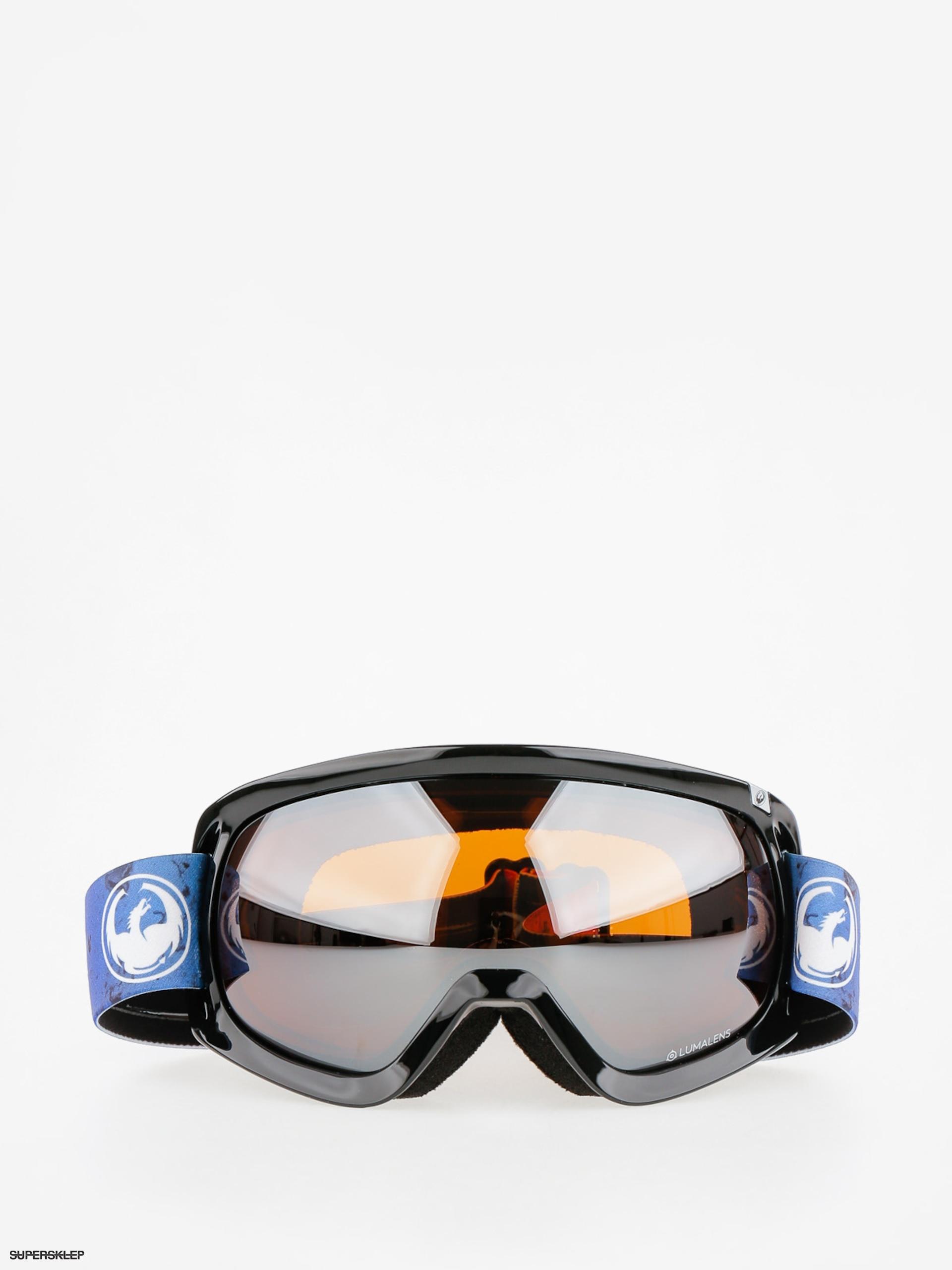 Okuliare na snowboard Dragon D3 (ink lumalens silver ion) a53ebf434ad