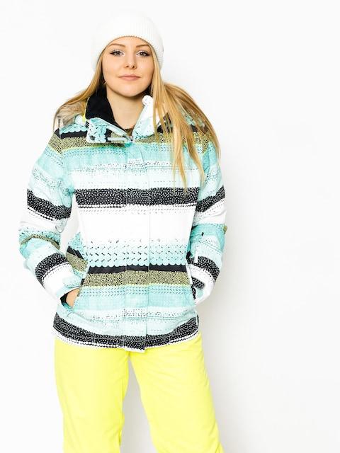 Snowboardová bunda Roxy Jet Ski Wmn (aruba blue lizzydots)