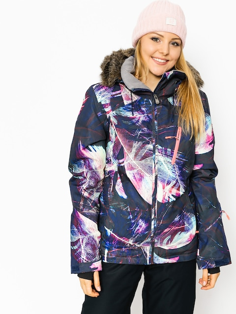 Snowboardová bunda Roxy Jet Ski Prem Wmn (seamless feathers)