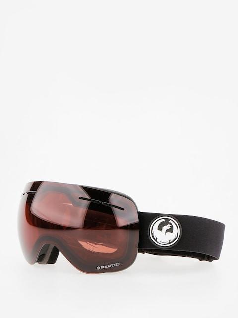 Okuliare na snowboard Dragon X1s (black/lumalens polarized)