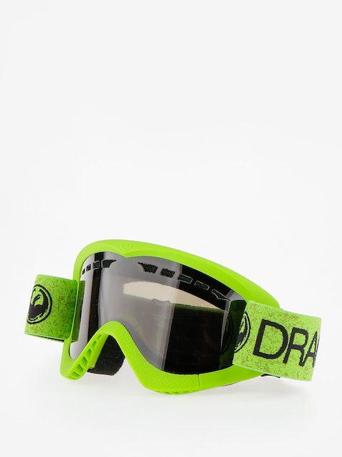 Okuliare na snowboard Dragon DXS (green/dark smoke)