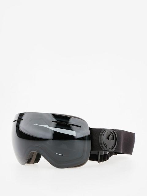 Okuliare na snowboard Dragon X1s (knight rider/dark smoke/l fresh blue l rose)