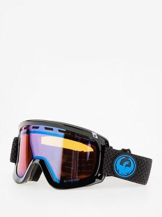 Okuliare na snowboard Dragon D1 (split/lumalens blue ion/l amber)