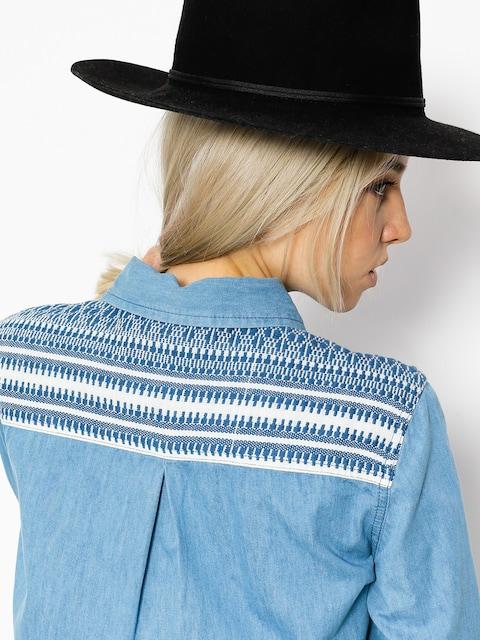 Košeľa Roxy Lightdown Wmn (medium blue)