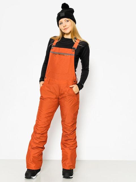Snowboardové nohavice Roxy Non Stop Bib Wmn (rooibos tea)