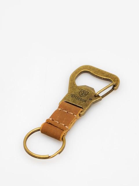 Kľúčenka Brixton Kassik Key Clip (antique bronze)