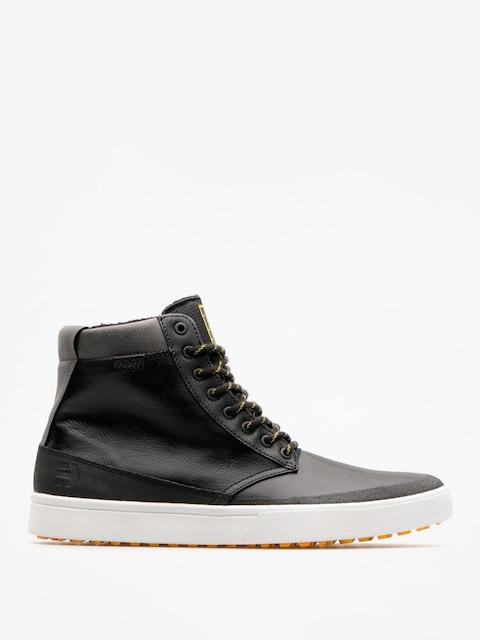 Zimné topánky Etnies Jameson Htw (black/grey/yellow)