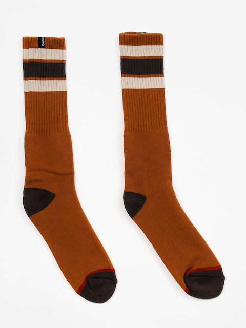 Ponožky Brixton Alameda (rust)