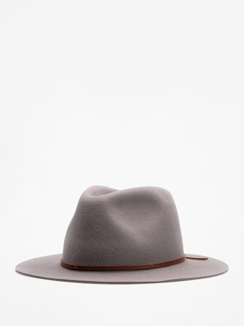 Klobúk Brixton Wesley Fedora (light grey)