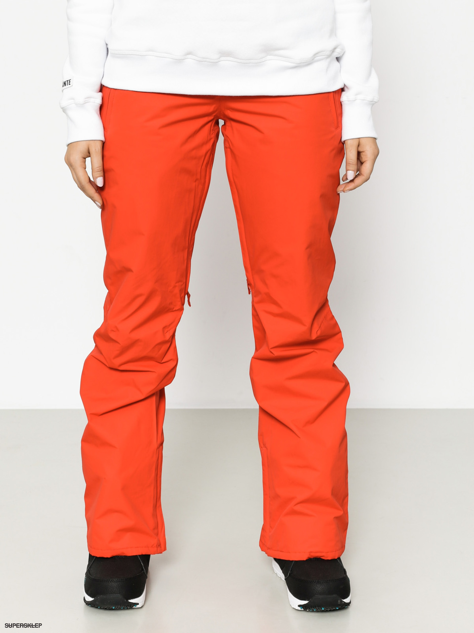 30d50929e Burton Snowboardové nohavice Society Wmn (fiery red)