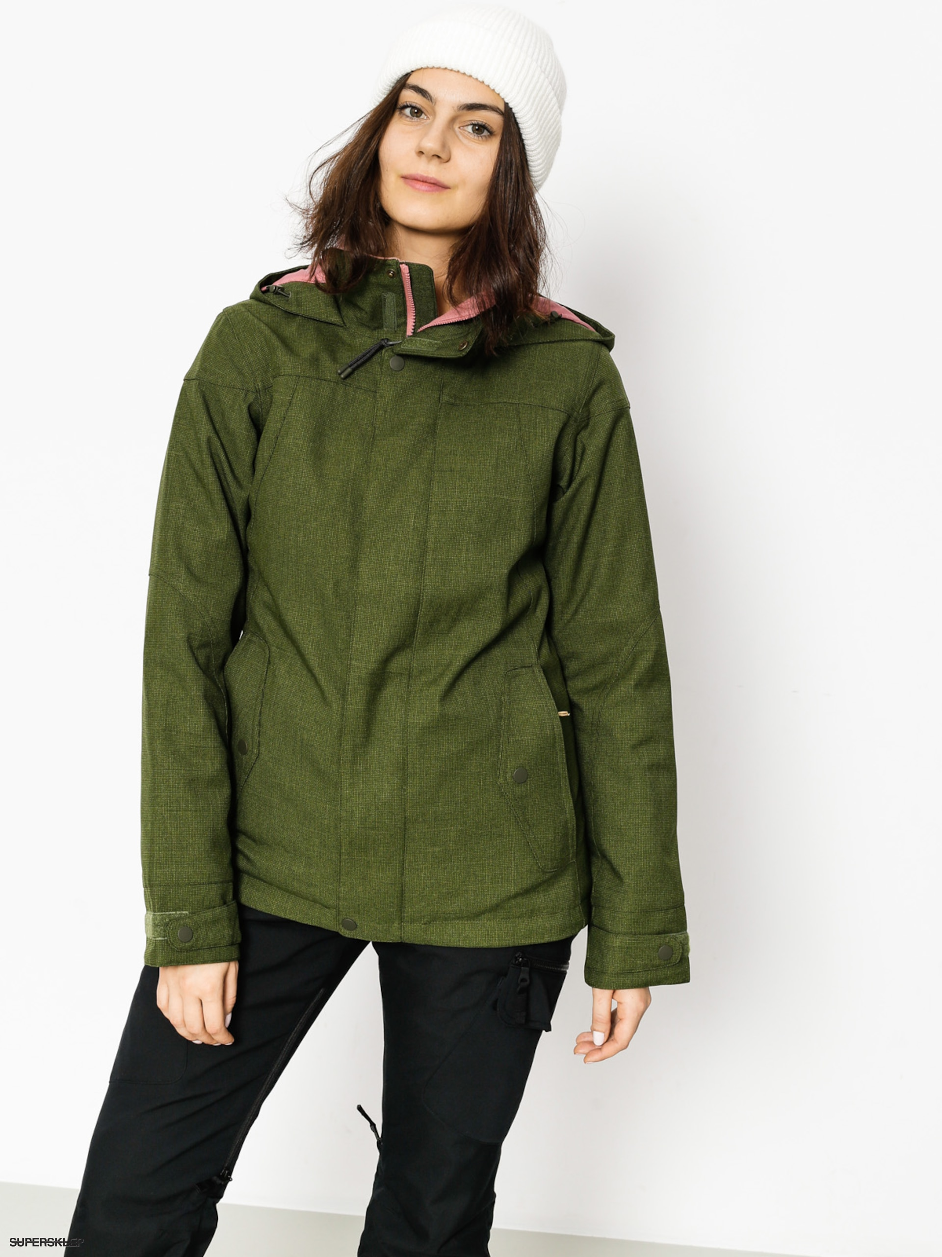 Burton Snowboardová bunda Jet Set Wmn (rifle green)