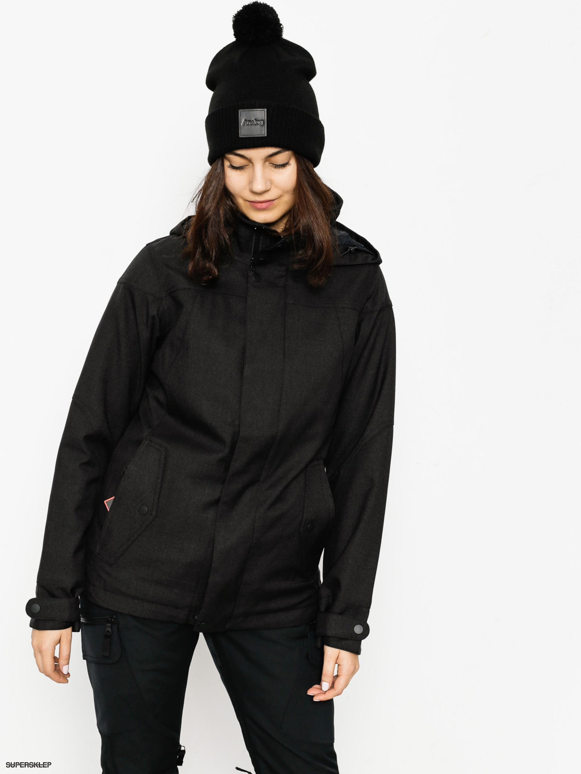 Snowboardová bunda Burton Jet Set Wmn (true black)