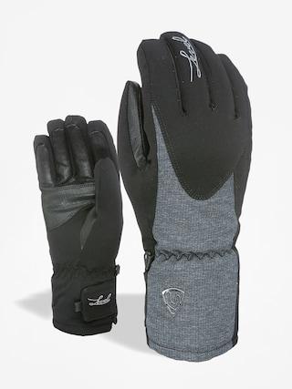 Rukavice Level Alpine Wmn (black/grey)
