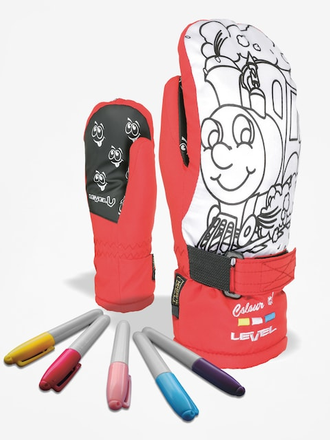 Rukavice Level Pop Art Jr Mitt