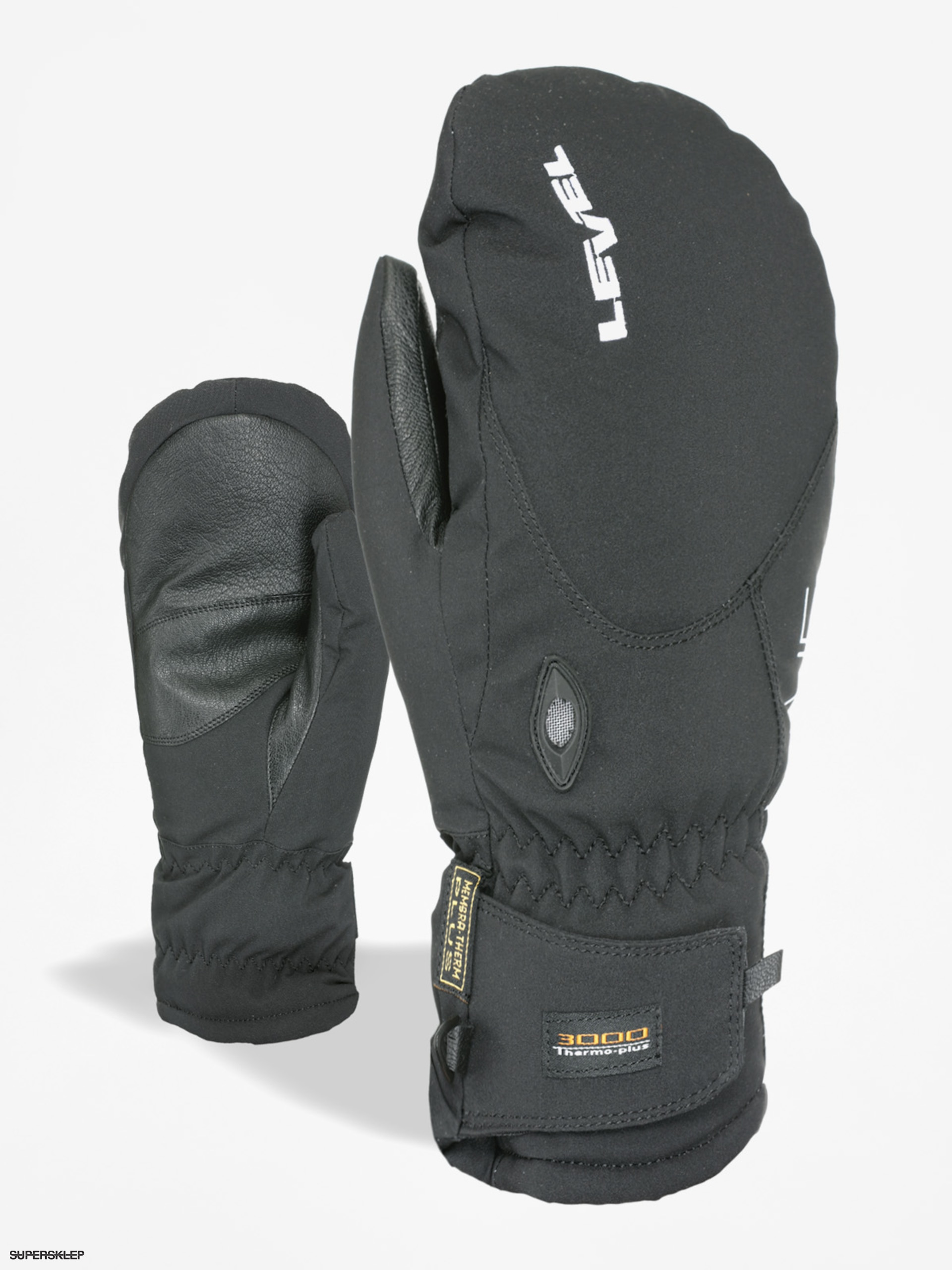 Rukavice Level Alpine Mitt (black)