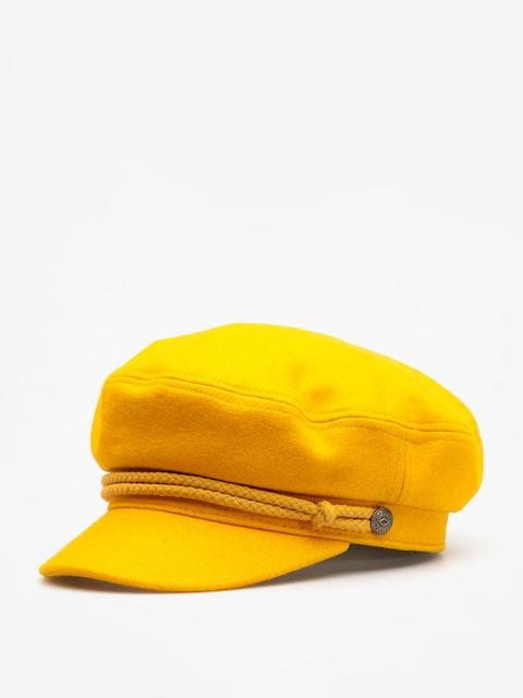 Klobúk so šiltom Brixton Ashland Wmn (mustard)