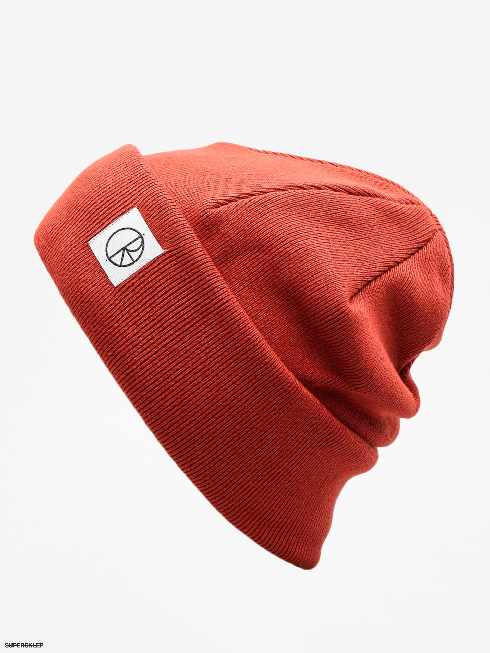 Čiapka Polar Skate Double Fold Beanie (brick red)