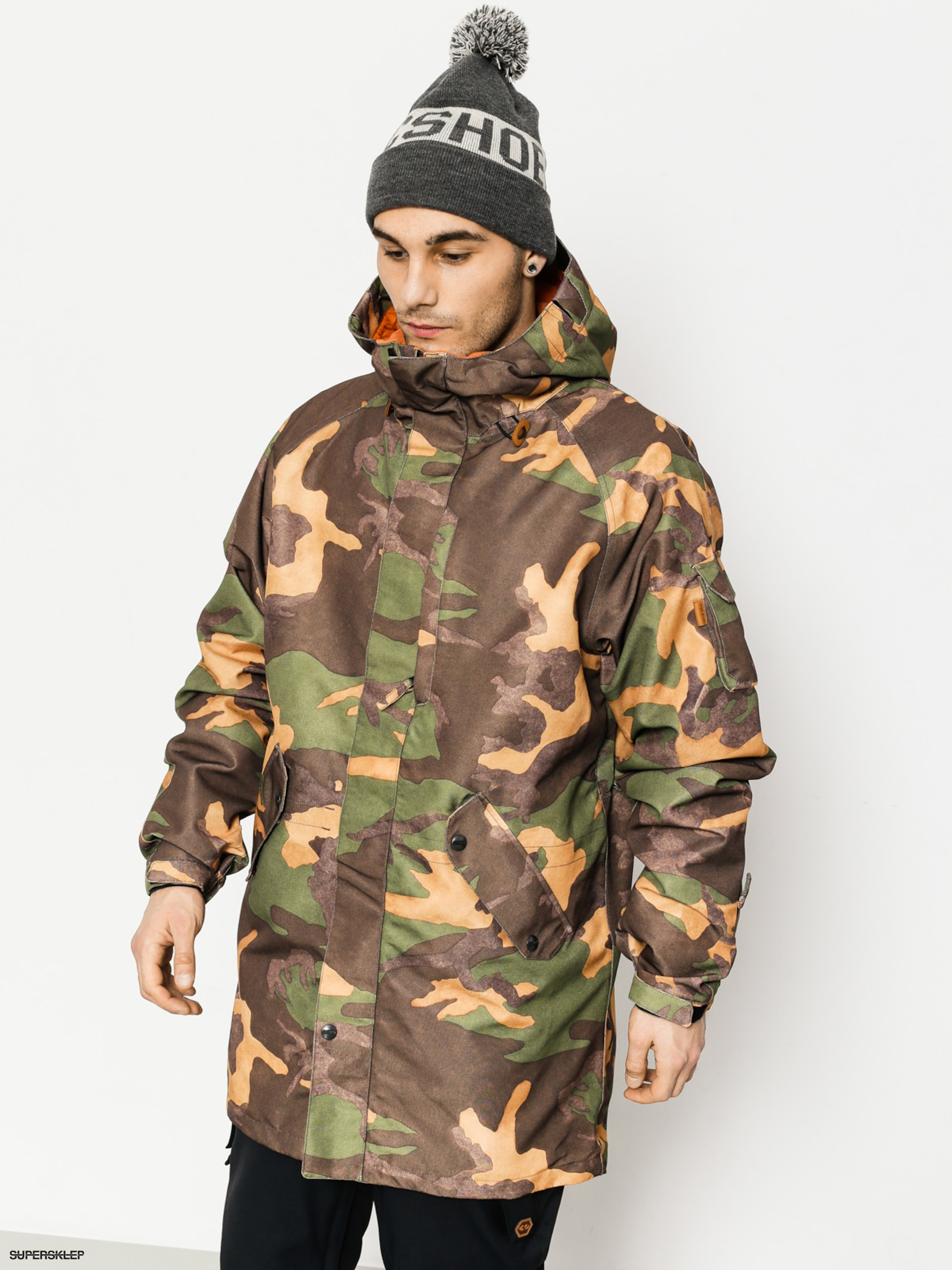 Snowboardová bunda ThirtyTwo Deep Creek (camo)