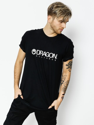 Tričko Dragon Trademark Staple Line (black)