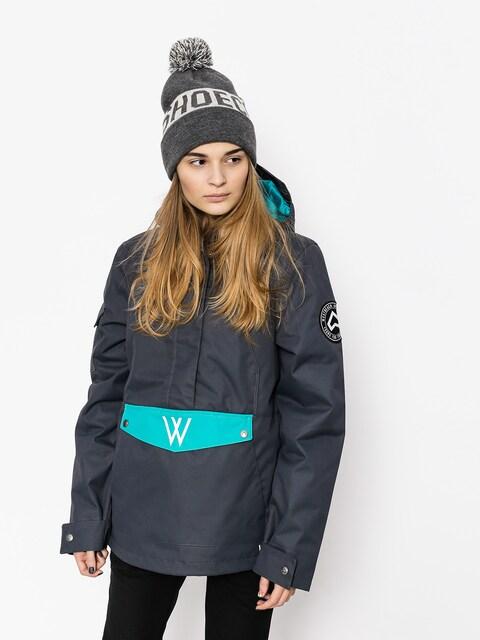 Snowboardová bunda Westbeach Melody Overhead Jacket Wmn (steel/dark teal)