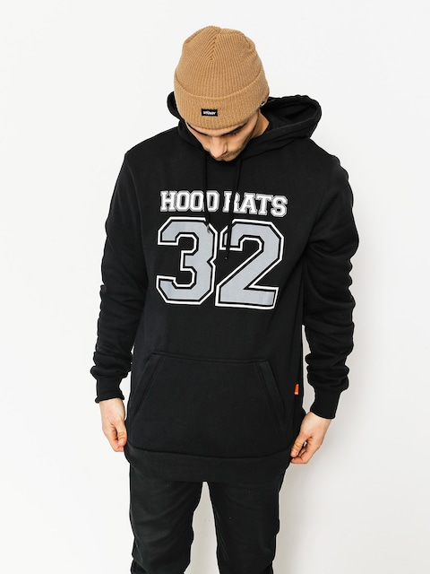 Mikina s kapucňou ThirtyTwo Hood Rats Team HD (black)
