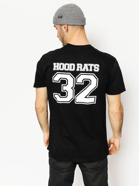 Tričko ThirtyTwo Hood Rats Thirft (black)