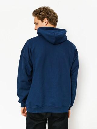 Mikina s kapucňou Thrasher Skate Mag HD (navy blue)