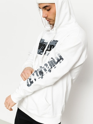 Mikina s kapucňou ThirtyTwo Double Box Snow Camo (white)