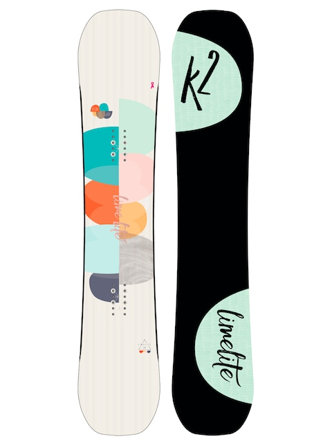 Snowboard K2 Lime Lite Wmn (black/lime)