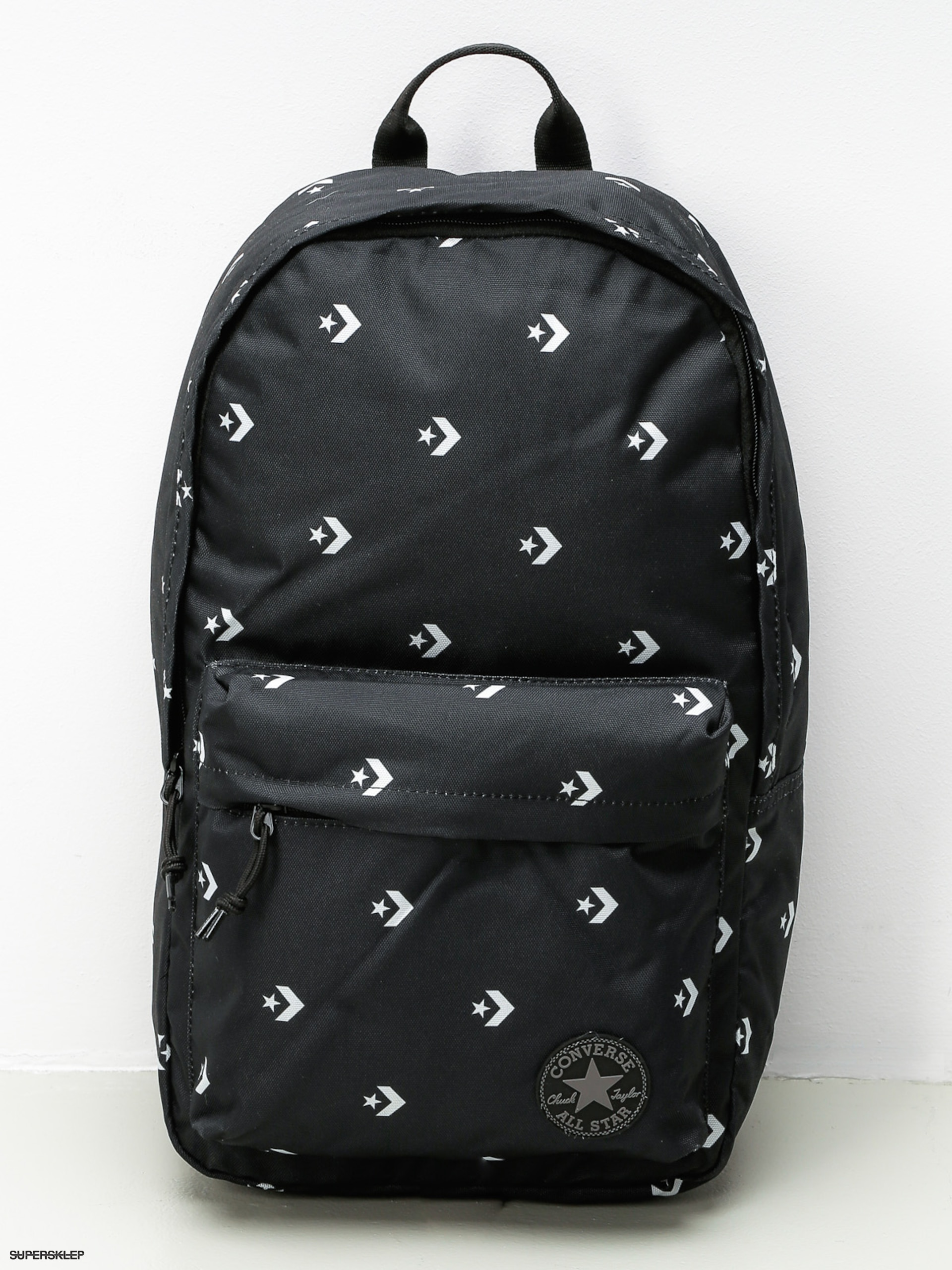 Batoh Converse Edc Poly (star chevron repeat black)