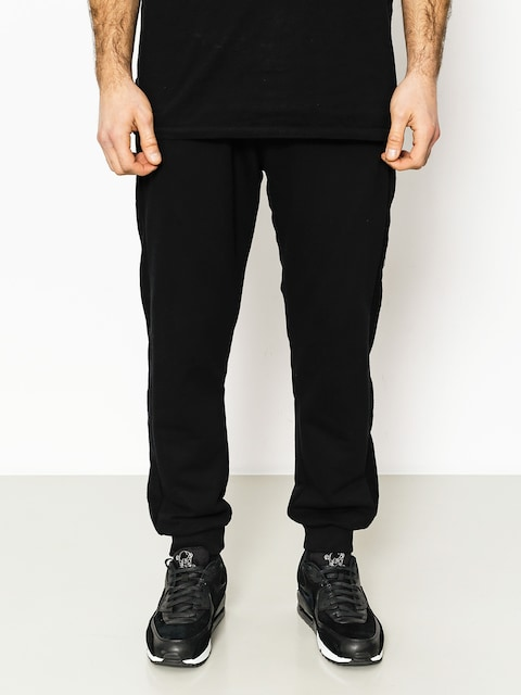 Nohavice Backyard Cartel Cream Jogger Fit Drs (black)